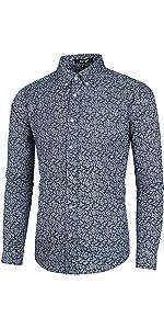 """""""Denim Paisley Shirt, Print Shirt """""""