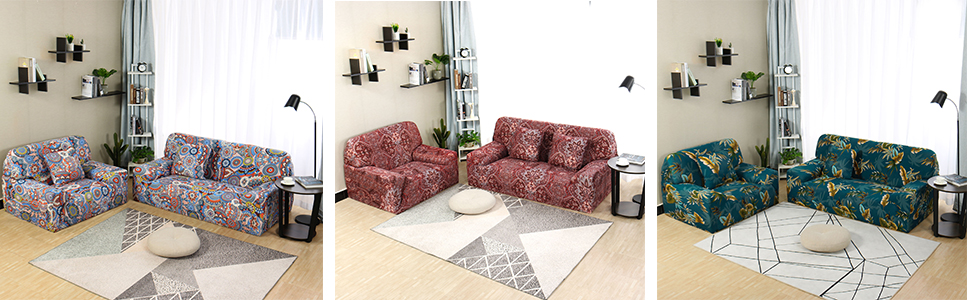 Amazon.com: uxcell - Funda elástica para sofá, 1 plaza ...