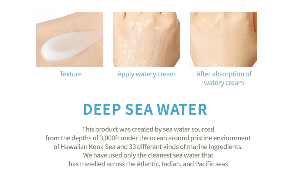 aguas profundas del mar