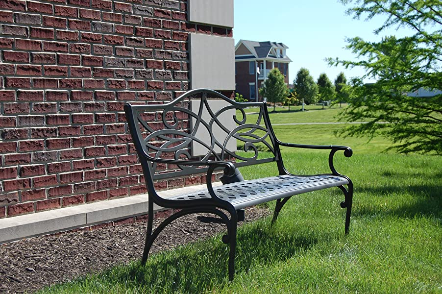 Maintenance Free Garden Bench Part - 31: Our Garden Bench Is Constructed Of Commercial Grade Rust-free And  Maintenance-free Cast ...