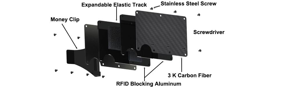aluminum wallet for men
