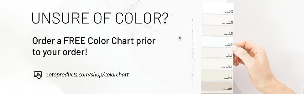 Soto Color Chart