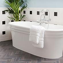 bathtub porcelain shower