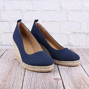 espadrille slip on pumps sandals