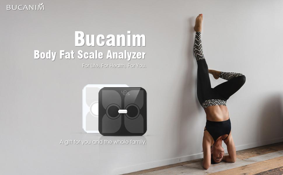 Body Fat Scale Analyzer