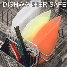 silicone bags in the dishwasher