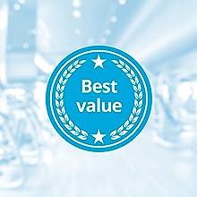 best value bundle kit 3-pack shaker bottle bluepeak blender 28oz protein