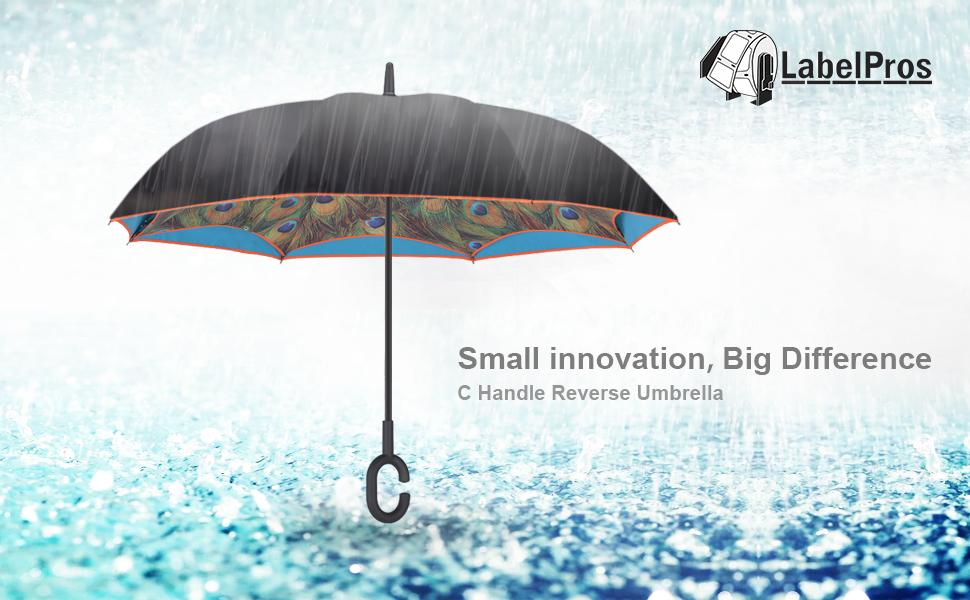 amazon com reverse umbrella upside down large rain umbrella as