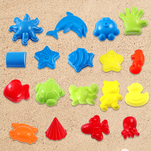 Amazon.com: iBaseToy - Juego de juguetes de playa con bolsa ...