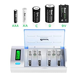 D battery charger