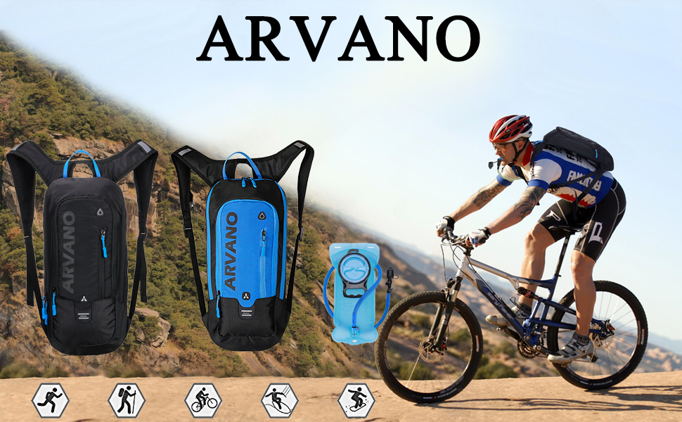 f184f71d51 With roomy compartments but weight only 1.4 pounds (0.65 kg) unfilled .  this ARVANO 6 L hydration backpack ...