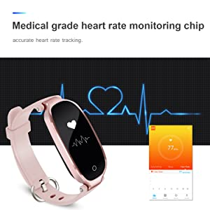 1 x User Manual. ♥ DYNAMIC HEART RATE and AUTO SLEEP MONITOR :