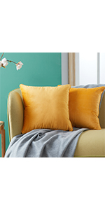 Yellow Cushion Covers