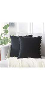 Black Accent Pillows