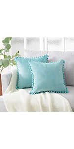 Amazon.com: Top Finel Decorative Throw Pillow Covers 26 x 26 ...