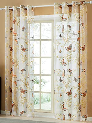 butterfly curtains