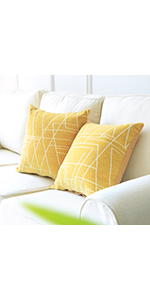 Yellow Accent Pillows