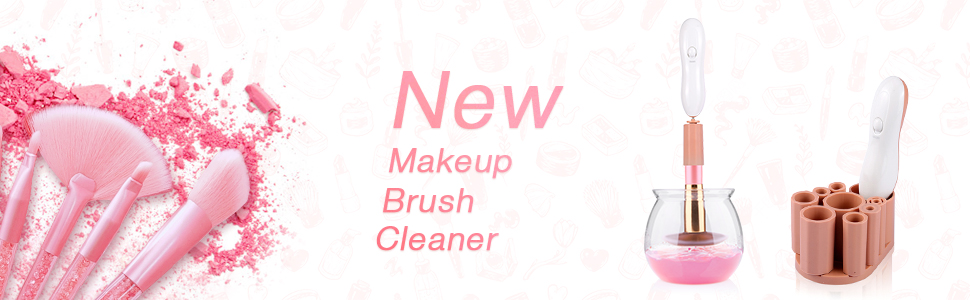 New makeup brush cleaner