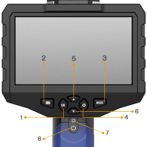 borescope with display