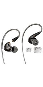 MMCX MIC CABLE · PRO EAR HEAD · PRO EARPHONE · TRIO EARPHONE