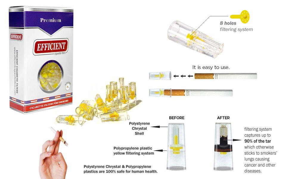 Efficient Cigarette Filters amp; Holders
