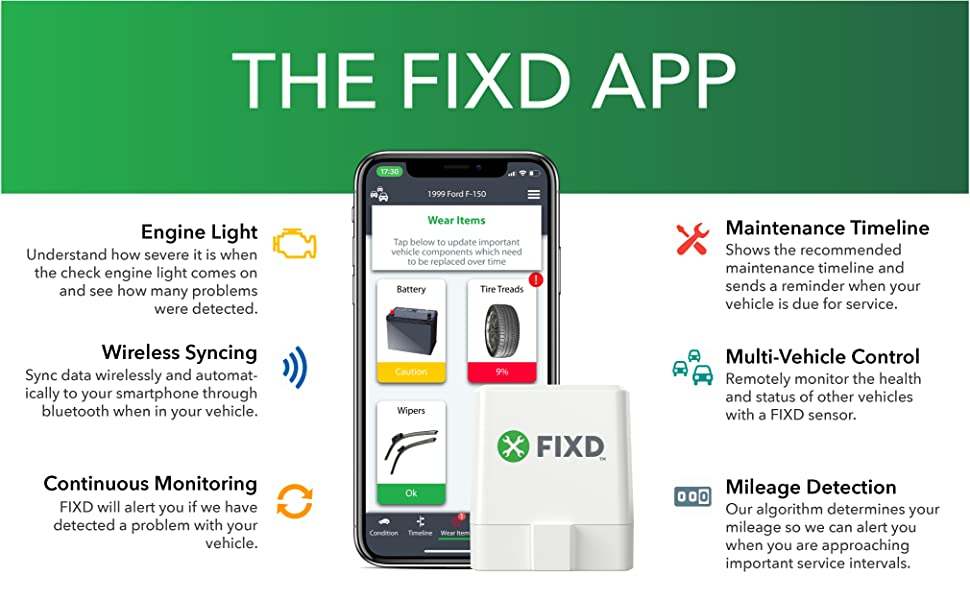 FIXD app can do many functions.