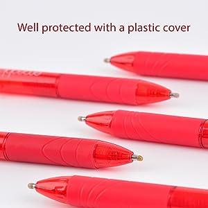 erasable pens red