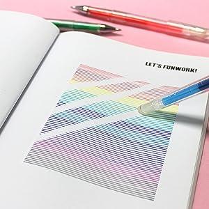 erasable pens erasing