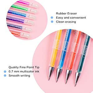 erasable pens writing