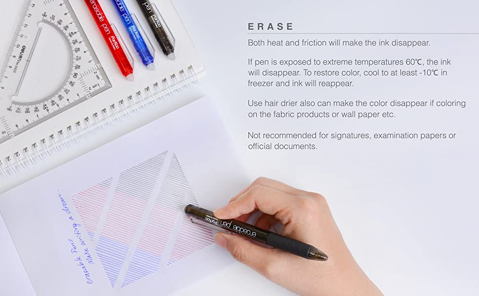 erasable gel pens