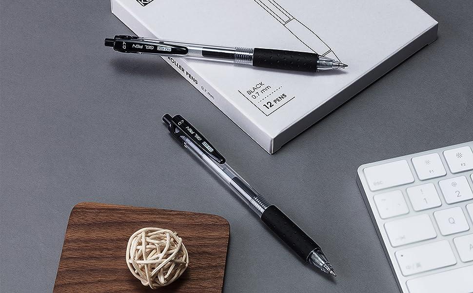 retractable gel pens