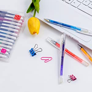 erasable pens colored