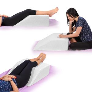 Amazon Com Leg Elevation Pillow With Memory Foam Top