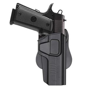 Colt 1911 5'' Holster OWB, Paddle Holster fit 1911 Colt 45, Girsan 1911 MC,  Variants 1911, Browning MK3, 360 Degree Adjustable Tactical Polymer Pistol