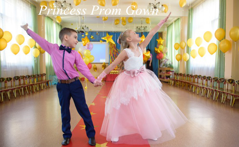 Be committed to realizing the dream of every little girl into a princess!!
