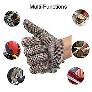 chain mail gloves glove Oyster garden mandolin cutting slicing  butcher gloves glove metal mesh