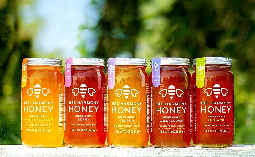 Bee Harmony Honey
