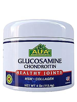 crema complexă de glucosamină cu condroitină