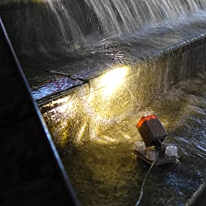 Light up your waterfalls