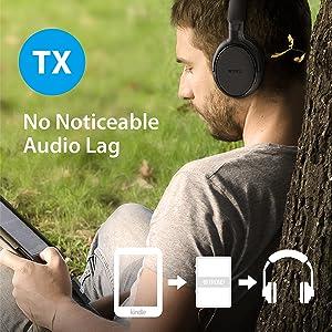 bluetooth transmitter for tv aptx low latency