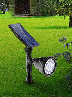 Слънчеви водоустойчиви външни светлини за пешеходна пътека