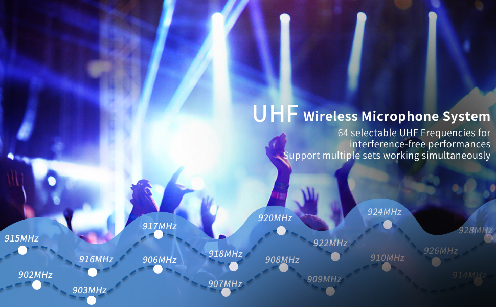 Hotec wireless microphone system