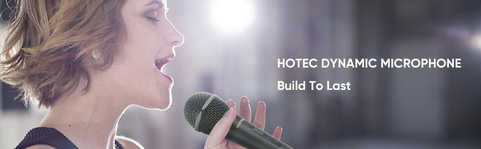 Hotec Dynamic microphone