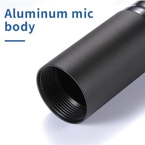 Aluminum mic body