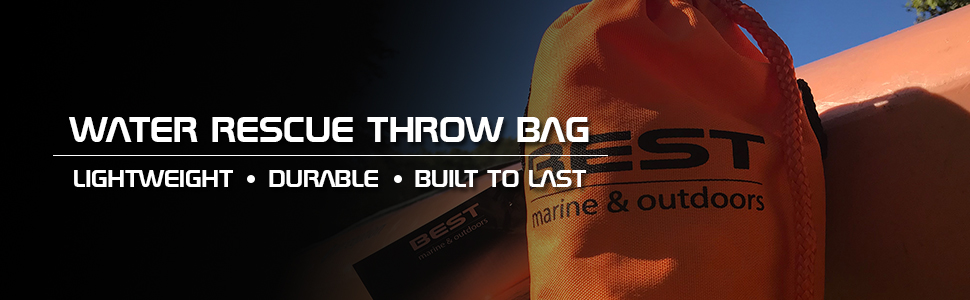 Throw Bag water rescue emergency safety flotation device rope line