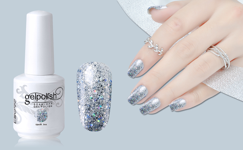 Amazon.com : Elite99 Gel Nail Polish Soak Off UV LED Gel Lacquer ...