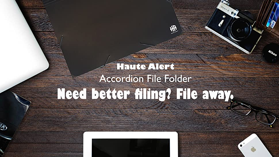 the haute alert expandable file folder is a must have if you want to keep your files organized it is ideal for home organizing or for daily use at school - Accordion Folder