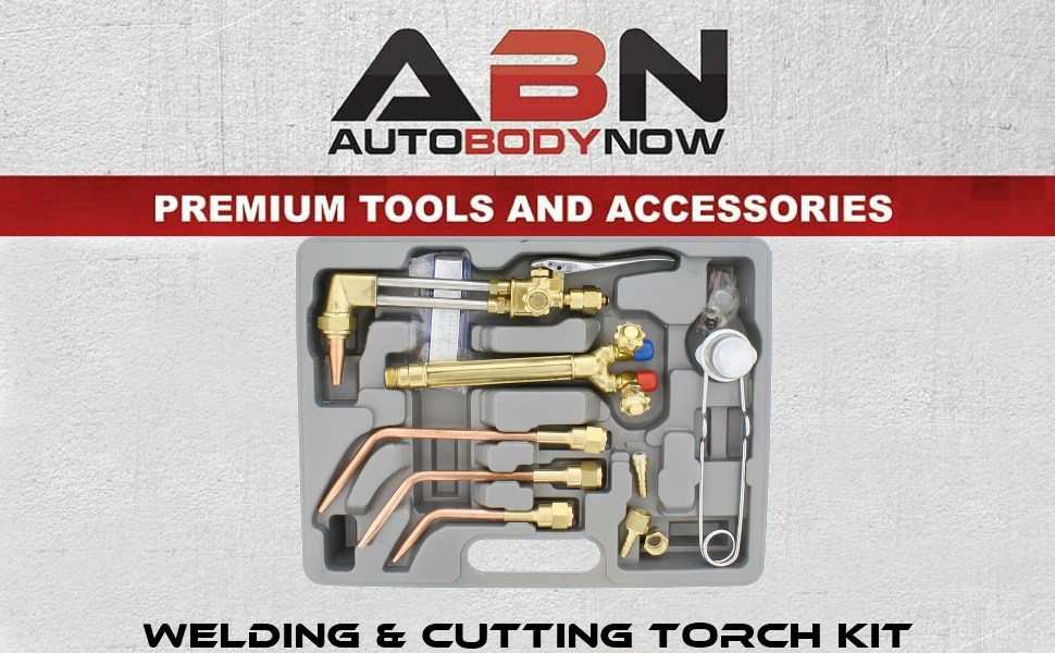 Picture of ABN (Auto Body Now) - Premium tools and accessories - Welding and cutting torch kit