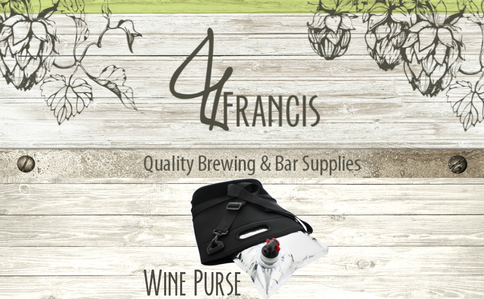 Amazon.com: Monedero de vino aislado con caja de boquilla ...