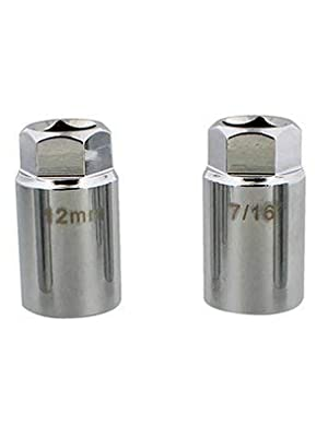 SAE and Metric Stud Remover Sockets etched with Sizing